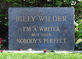 Billy Wilder Headstone